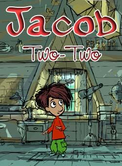 Jacob Two-Two! This is a great Canadian cartoon for little ones.