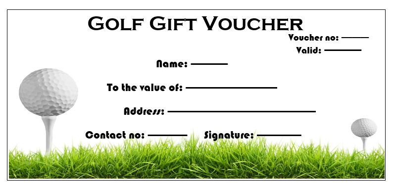 Golf Gift Certificate Template 4 Templates Example Templates Example Certificate Templates Gift Certificate Template Golf Gifts