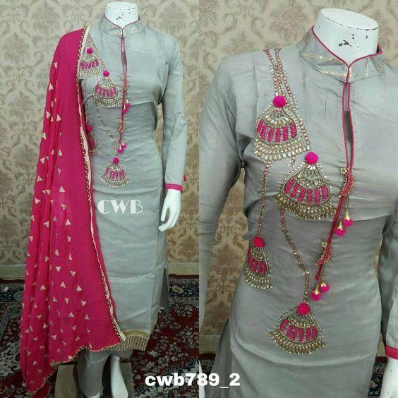 36f4ae7147 Punjabi Dress, Pakistani Dresses, Punjabi Bride, Pakistani Suits, Fancy  Kurti, Indian
