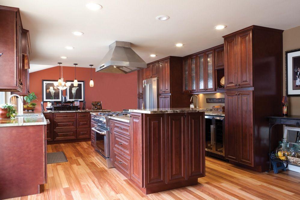mahogany maple   wholesale kitchen cabinets, kitchen