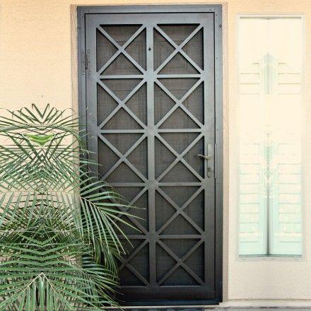 Alxsec005 Security Door Security Screen Door Metal Screen Doors Iron Security Doors