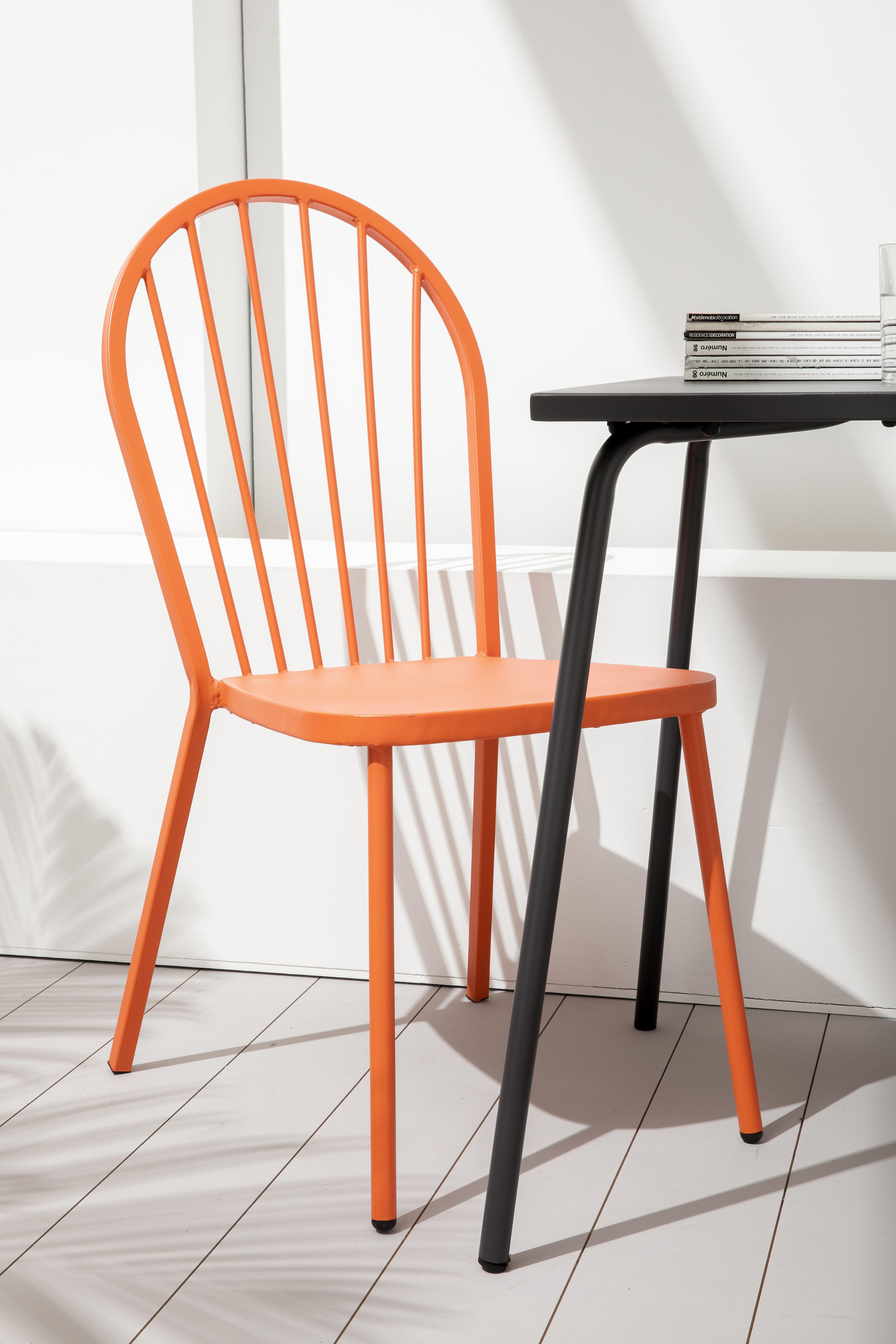 chaise bistro metal oviala salon de jardin metal chaise bistrot mobilier de salon