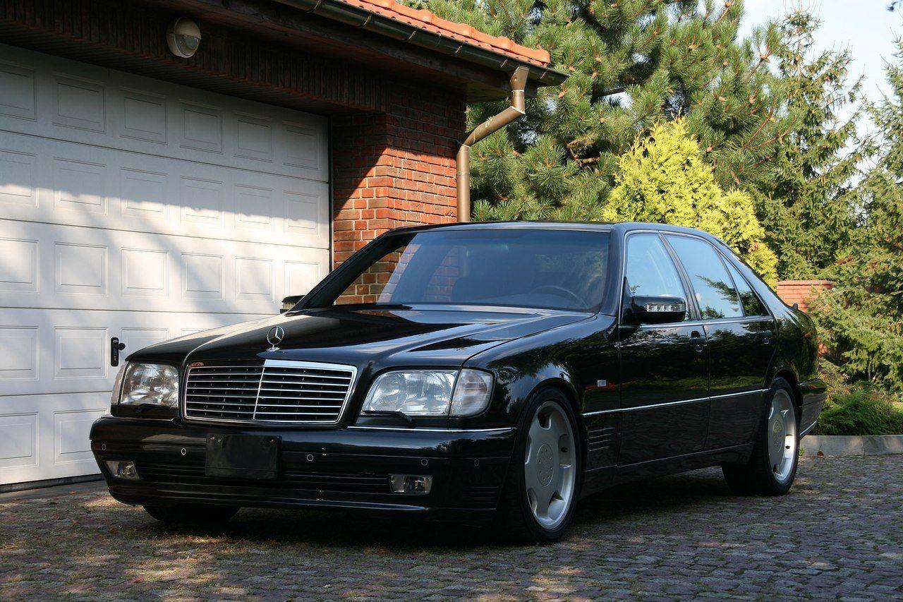 Mercedes Benz W140 S600 Lorinser Black Benz Mercedes Mercedes