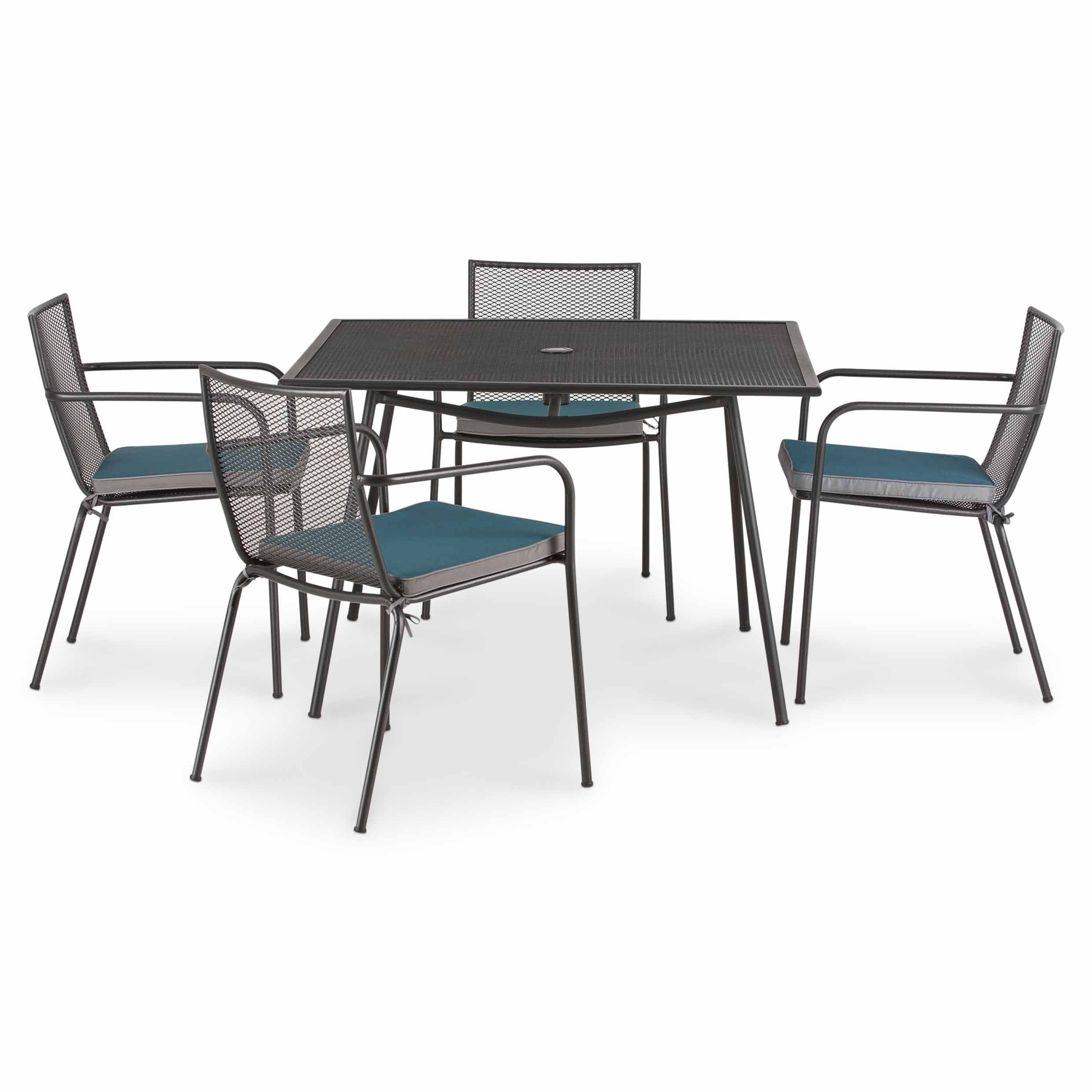 Adelaide Metal 4 Seater Dining Set SetsDining TableSale