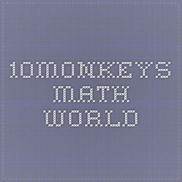 10monkeys Math World