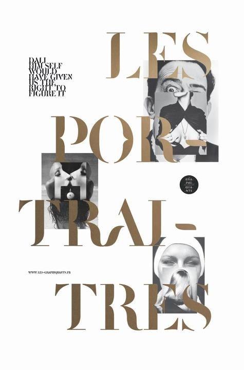 Les Graphiquants / Les Portraitres — #Type