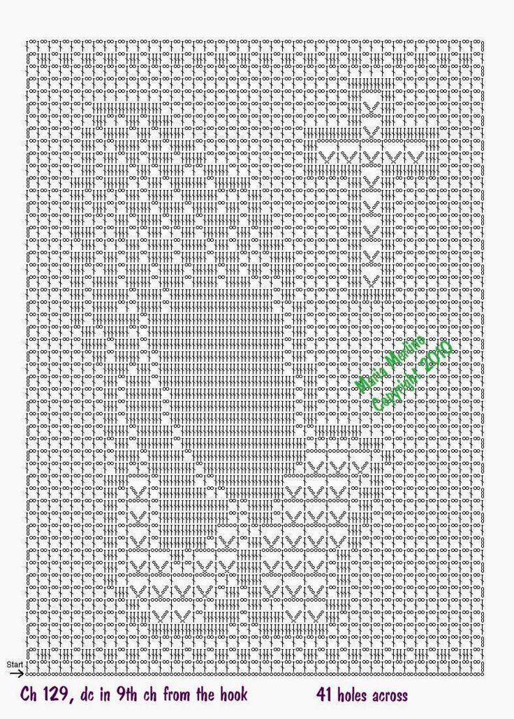 Resultado de imagem para imagens crochet filet   religioso   Pinterest
