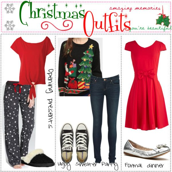 ed1b847cdae3 Polyvore Christmas Outfits Teens - Bing images | Autumn & winter ...