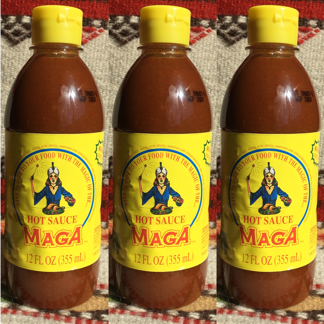 3 Bottles MAGA Hot Sauce from Mexico ~ Authentic Mexican Salsa MAGA #authenticmexicansalsa 3 Bottles MAGA Hot Sauce from Mexico ~ Authentic Mexican Salsa MAGA #authenticmexicansalsa