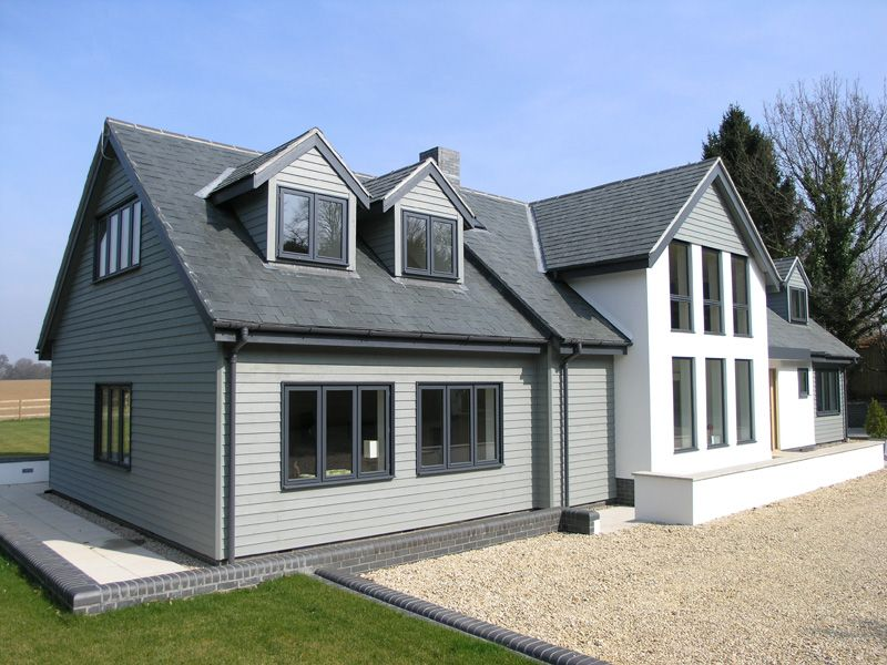 Cape cod cladding complete with 15 year warranty for Modern house 6 part 2