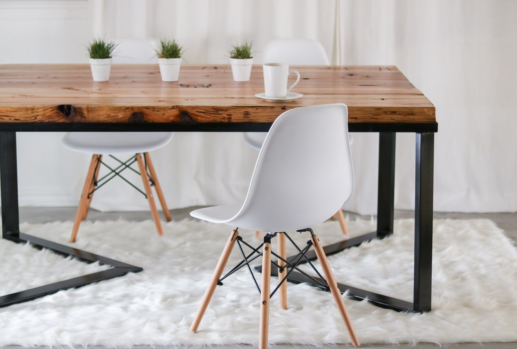 How I Made My Dining Table Under 60 Diy Table Scandinavian Diy Dining Room Table Dining Table Rustic Diy Dining Table
