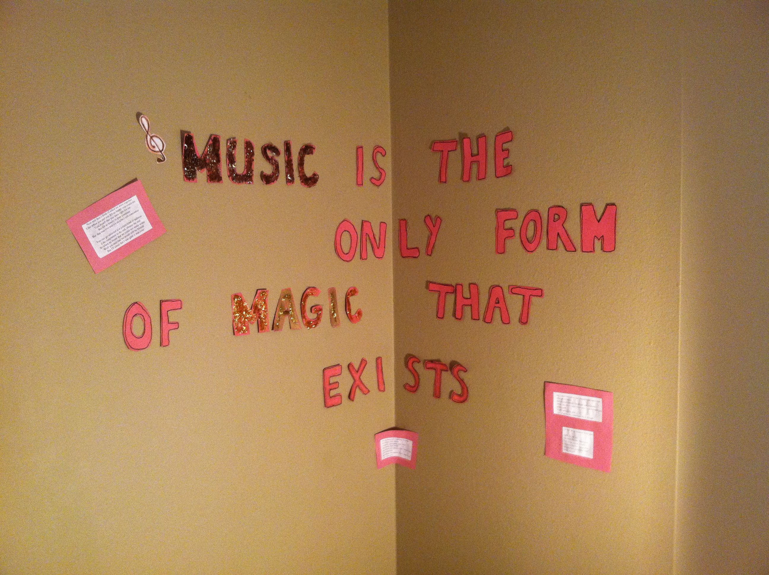 Letters To Put On Wall Tumblr Room Designreally Puts The Whole Room Togethercut Out