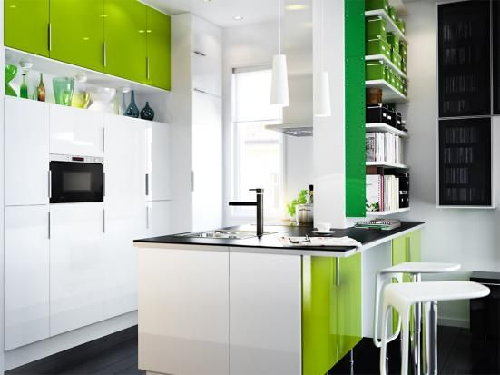 Einrichtungstipps für kleine Küchen - ikea kleine küchen