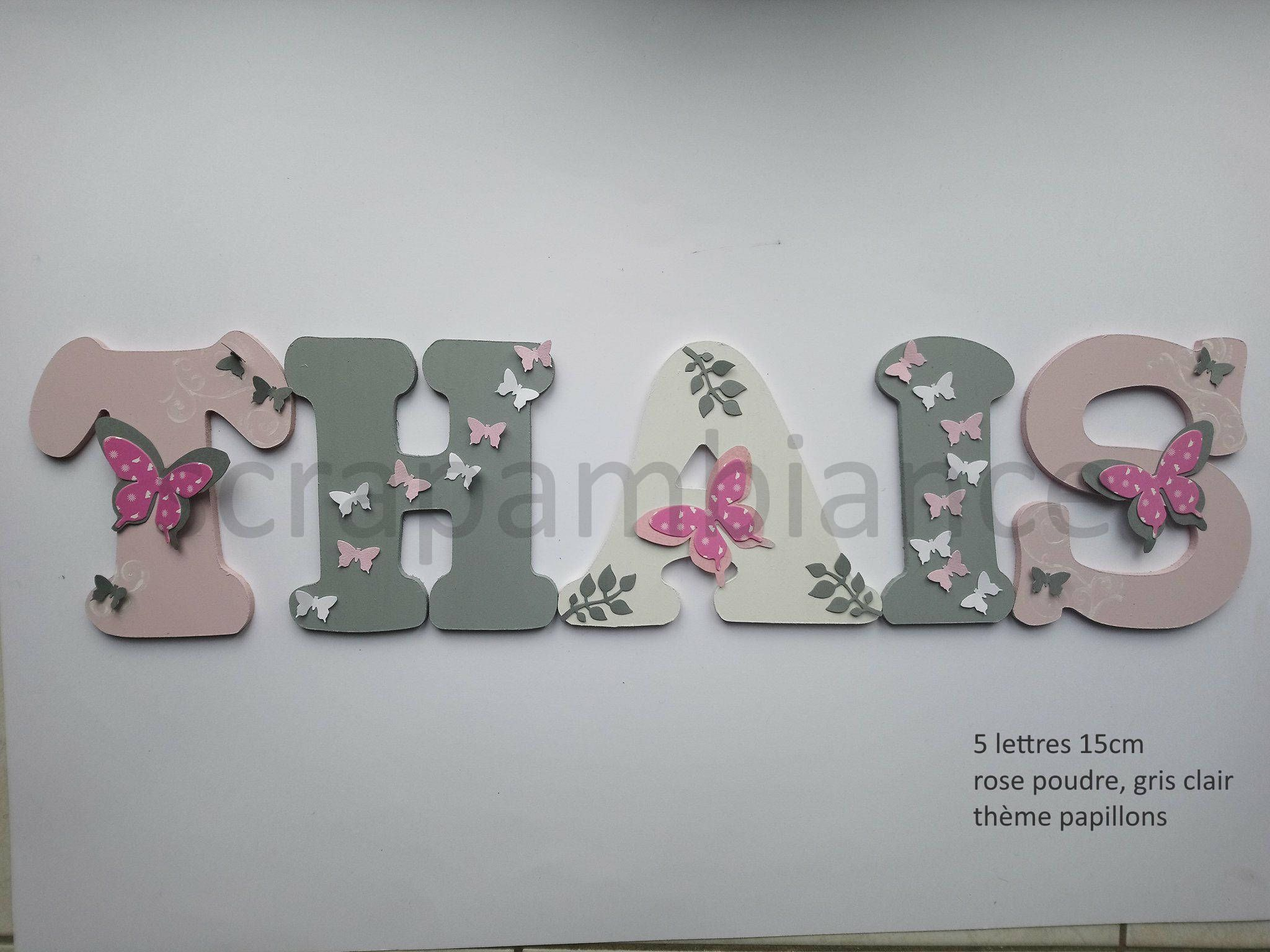 Wood Letter Name Name To Stick Wooden Name Door Letter To