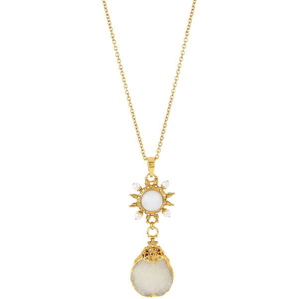 Jose maria barrera sun long pendant necklace 465 liked on jose maria barrera sun long pendant necklace 465 liked on polyvore featuring aloadofball Image collections