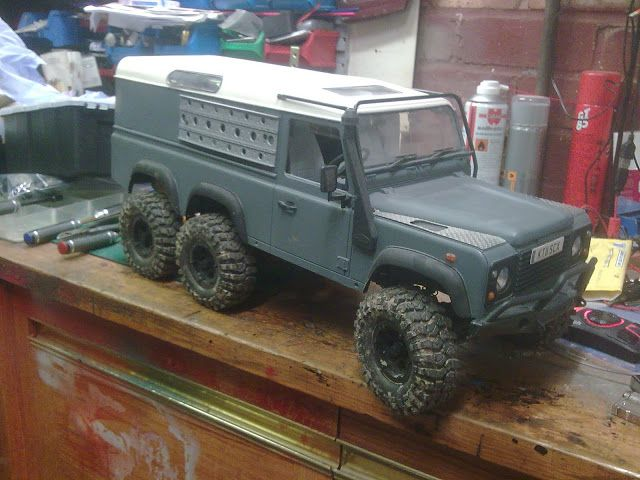 defender 6x6 rc model cool 6x6 trucks pinterest land. Black Bedroom Furniture Sets. Home Design Ideas