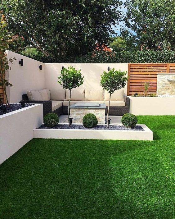 25+ kleine Garten Landschaftsbau Ideen #garten #ideen #kleine #landschaftsbau, #deckpatio
