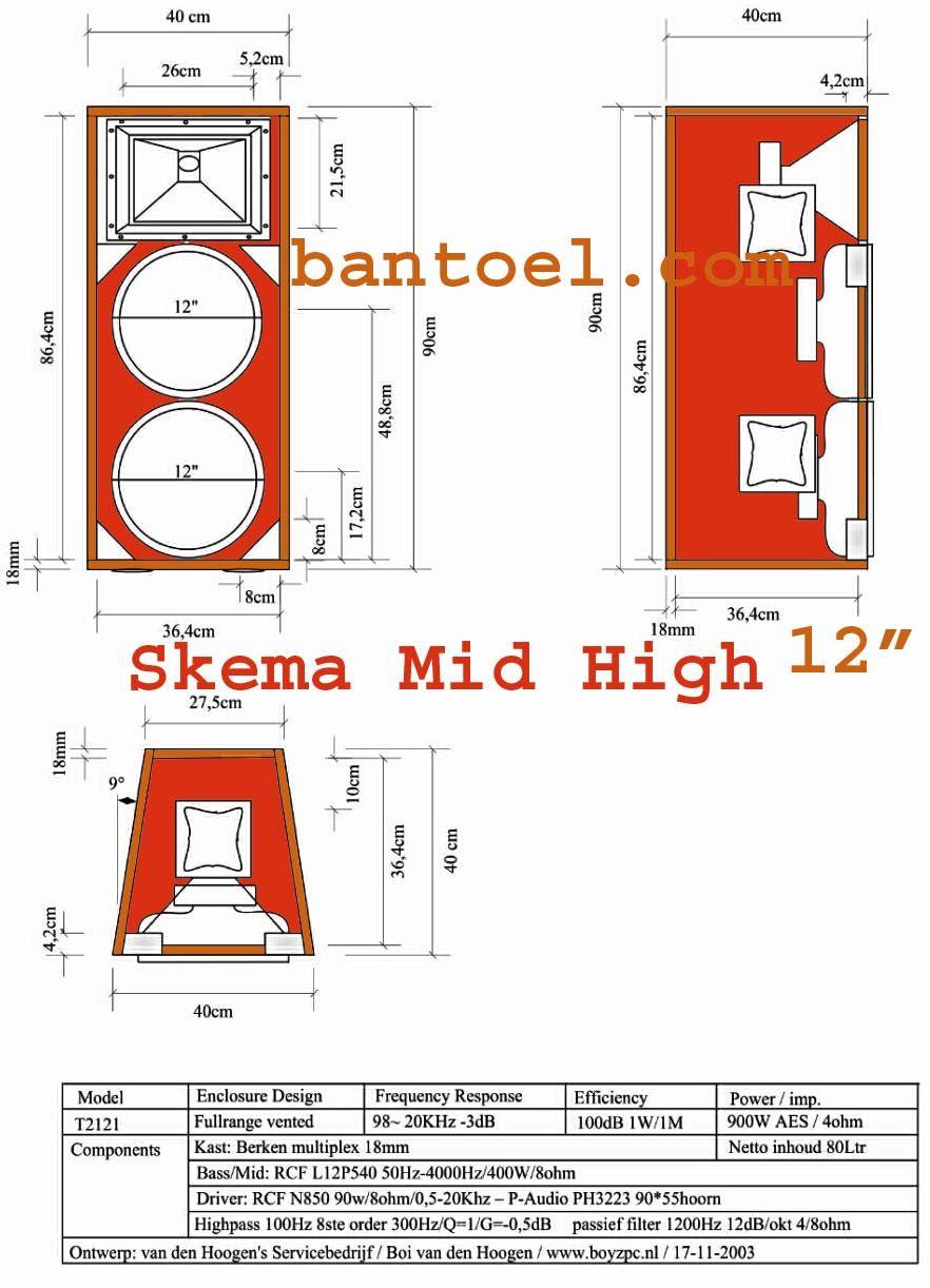 Desain Box Speaker 12 Inch Cantik Mantap Pengeras Suara Speaker Desain