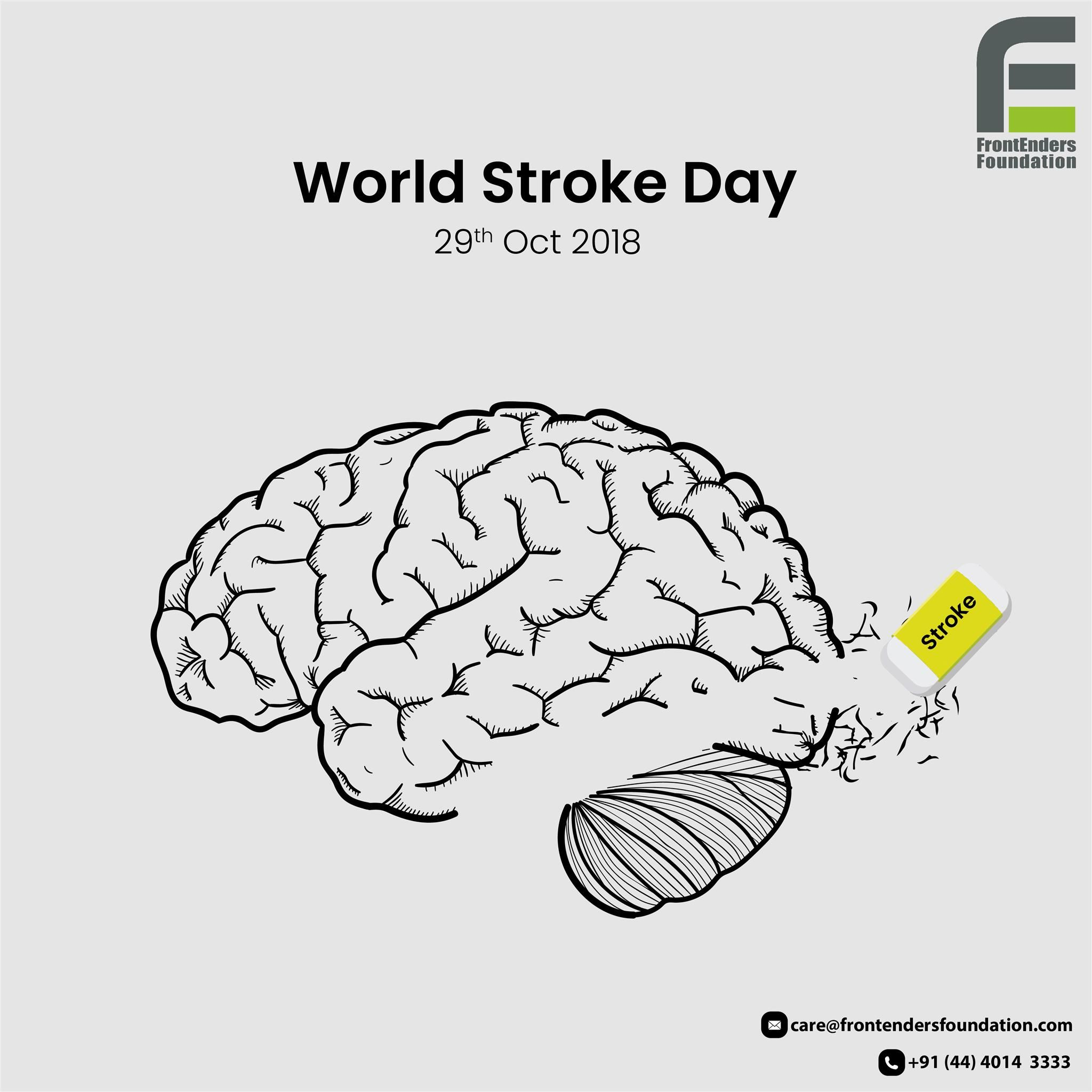 On This World Stroke Day Let Us Unite To Increase Awareness On This Neurodegenerative Disorder Worldstrokeda World Stroke Day Stroke Prevention Brain System