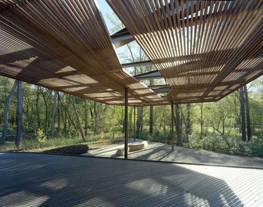 ejemplo para terrazas exteriores cubiertas