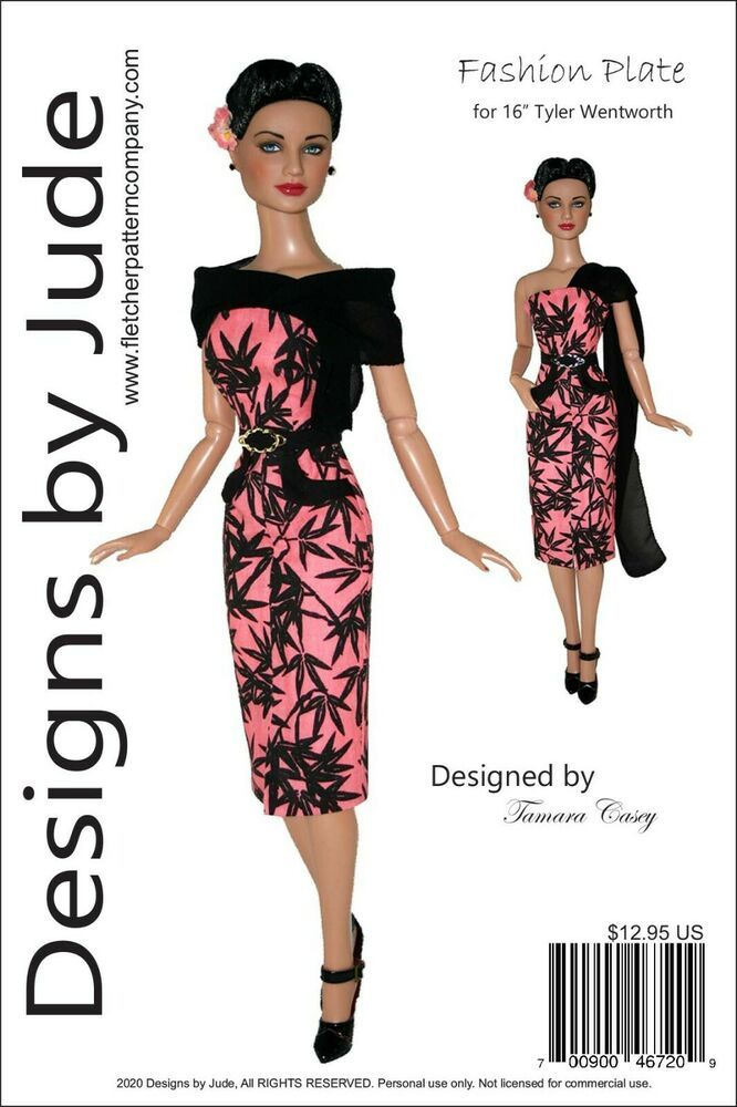 pattern for Tyler Wentworth doll by Tonner A Day of Shopping