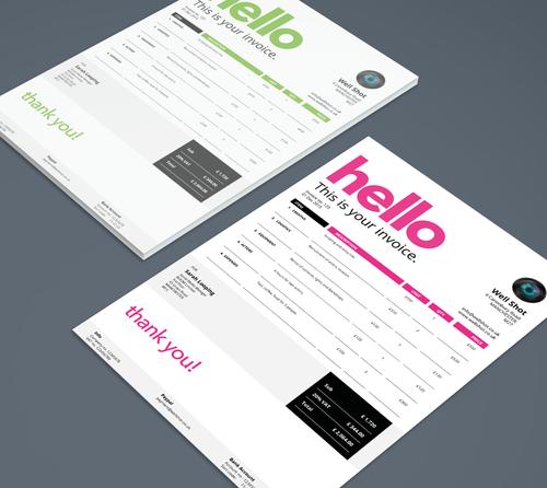 Templates Invoice Templates Creative Invoice Invoice Template Download