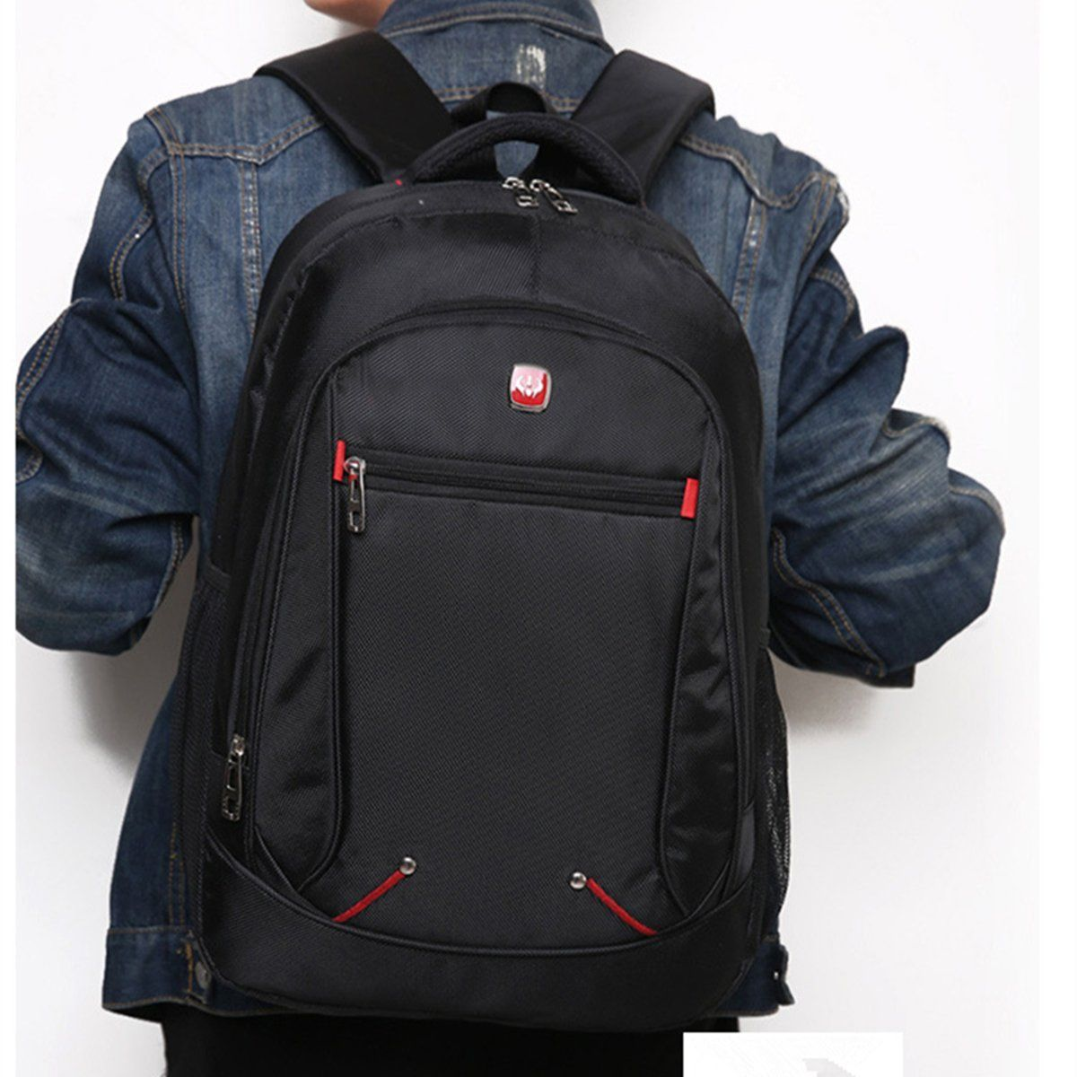 Men Women Laptop Backpack Travel Hiking Rucksack Waterproof Sports Shoulder Bag