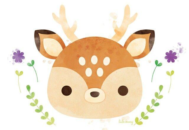 Pin De Megan Yim En Animali Ilustracion De Ciervos Cosas Lindas Para Dibujar Dibujo De Ciervos