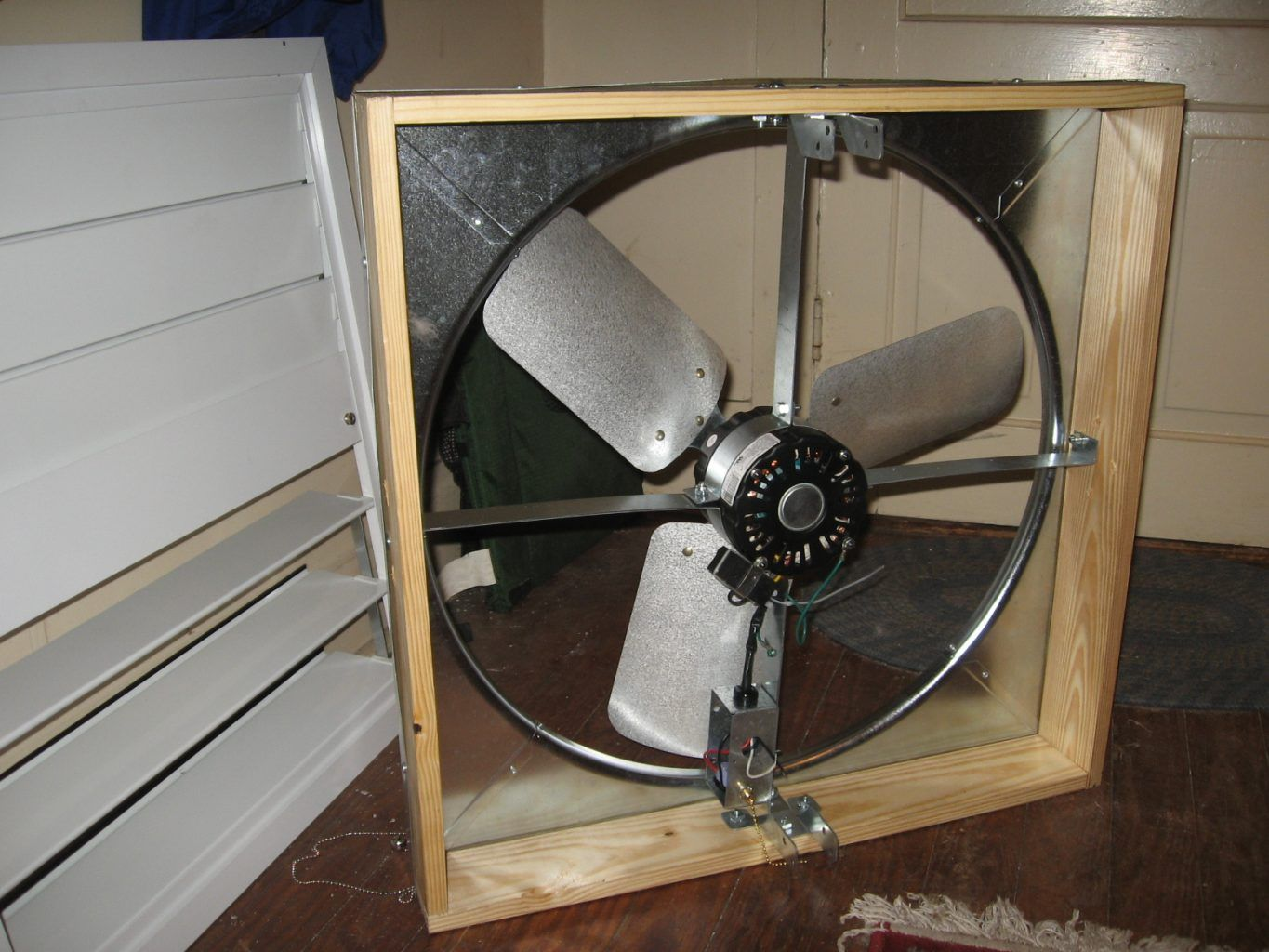 Home Improvement Tips Whole House Fans Installation Of A Quiet Cool Whole House Fan Diy Real Whole House Fan House Fan Whole House Fans
