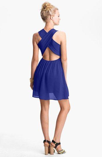 b7ee15472c2 dee elle Cross Back Skater Dress (Juniors) available at  Nordstrom ...
