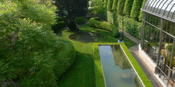 Jacques Wirtz garden in Bruges