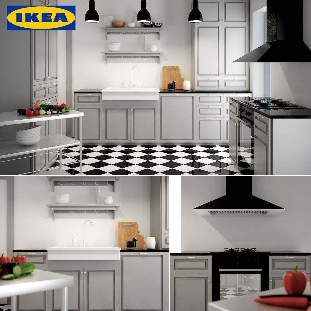 3d Kitchen Model 5 Free Download Kitchen Models Classic Kitchen Cabinets Kitchen Design