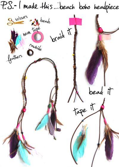 gamme exceptionnelle de styles prix de gros choisir officiel DIY: 7 accessoires pour cheveux à faire toi même | Home ...