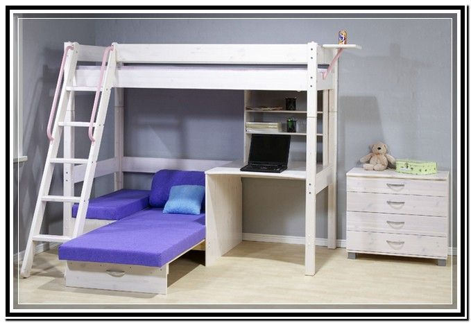 Bunk Bed With Futon And Desk Argos Bunk Beds Futon Bunk Bed Futon Chair Bed