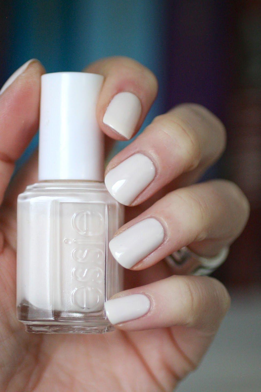 Essie Baby\'s Breath    Essie Envy   Glam   French tip nails, Winter ...