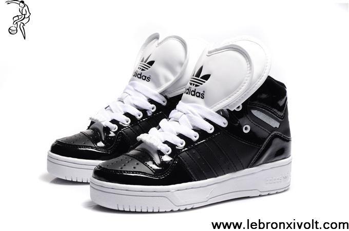 Buy New Adidas Attitude Logo Double Heart Tongue Shoes Black Newest ...