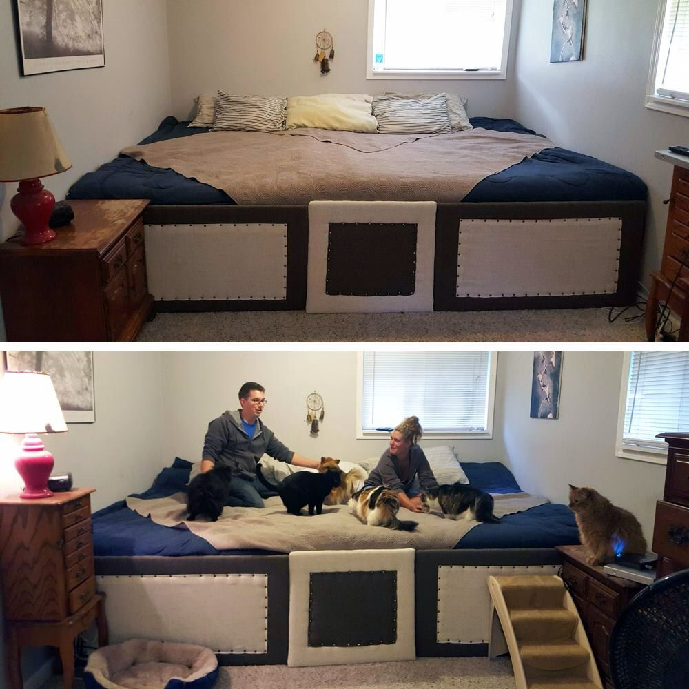So clever! Bed, Huge bed, Family bed