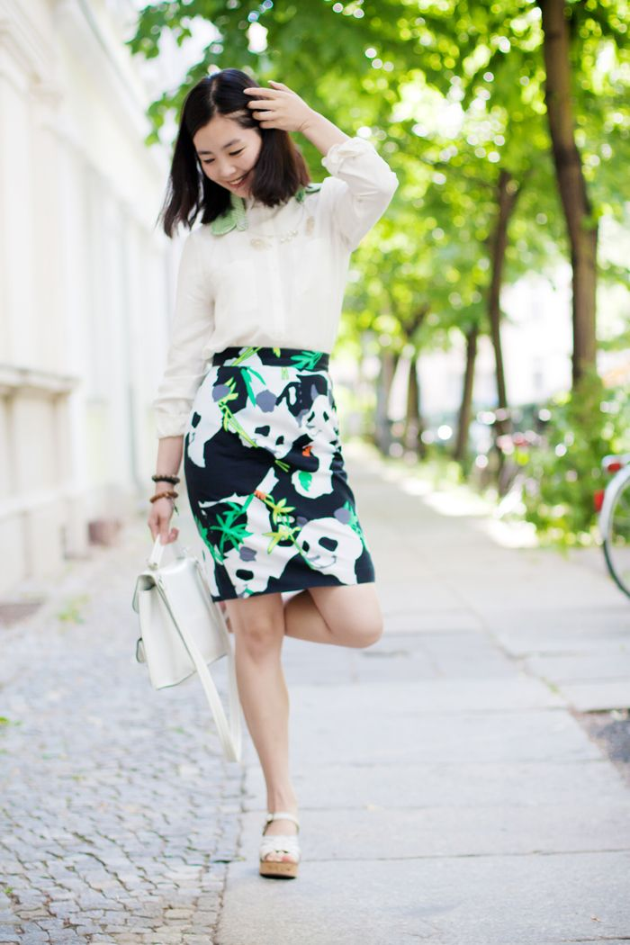 The Sea of Fertility. One of my fav blogs evah! and panda skirt? heck yes