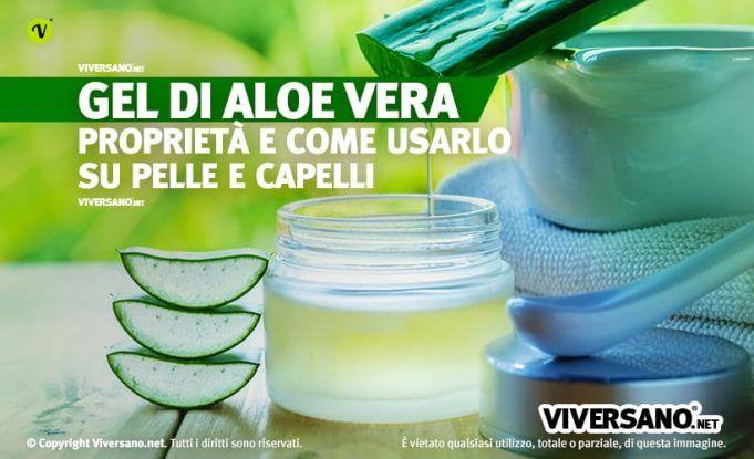 Gel di Aloe Vera: proprietà e usi per la cura di viso, corpo e capelli