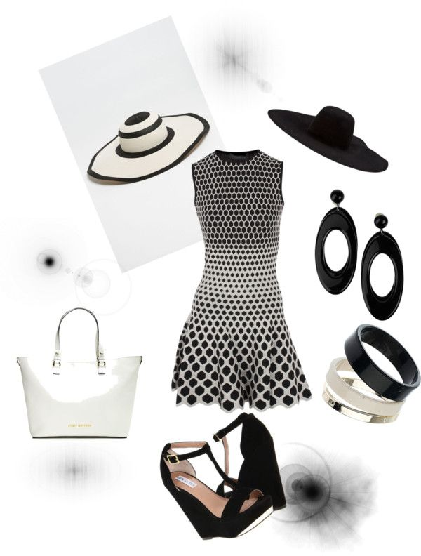 """Black and White"" by cvg4 on Polyvore"