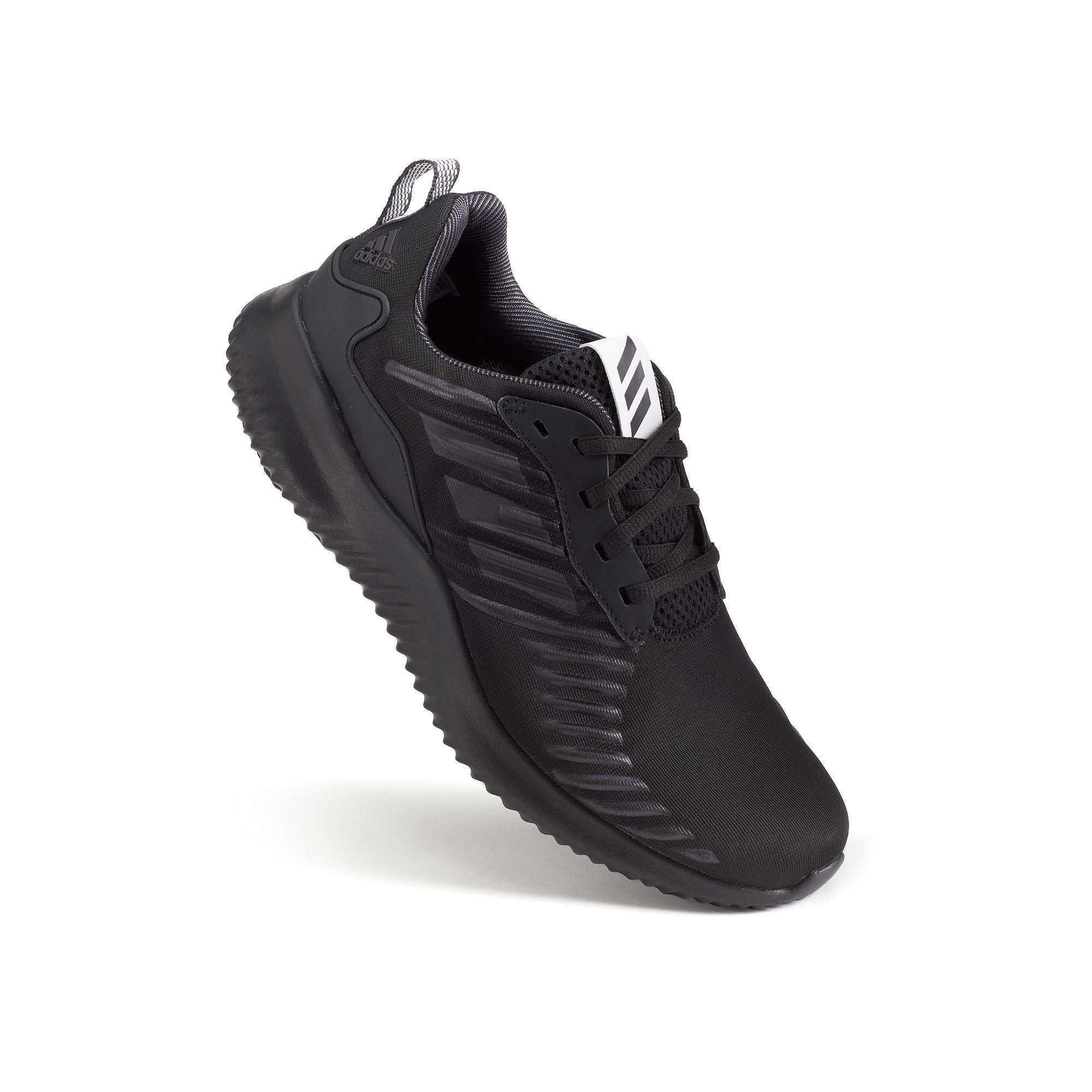 adidas alphabounce rc uomini scarpe da corsa, med rossi, scarpe da corsa