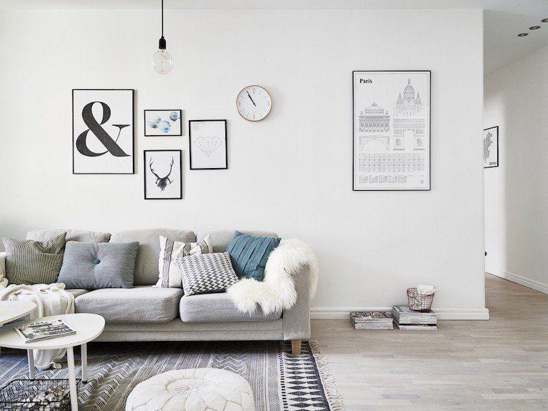 Déco salon scandinave - astuces design et idées élégantes Decoration