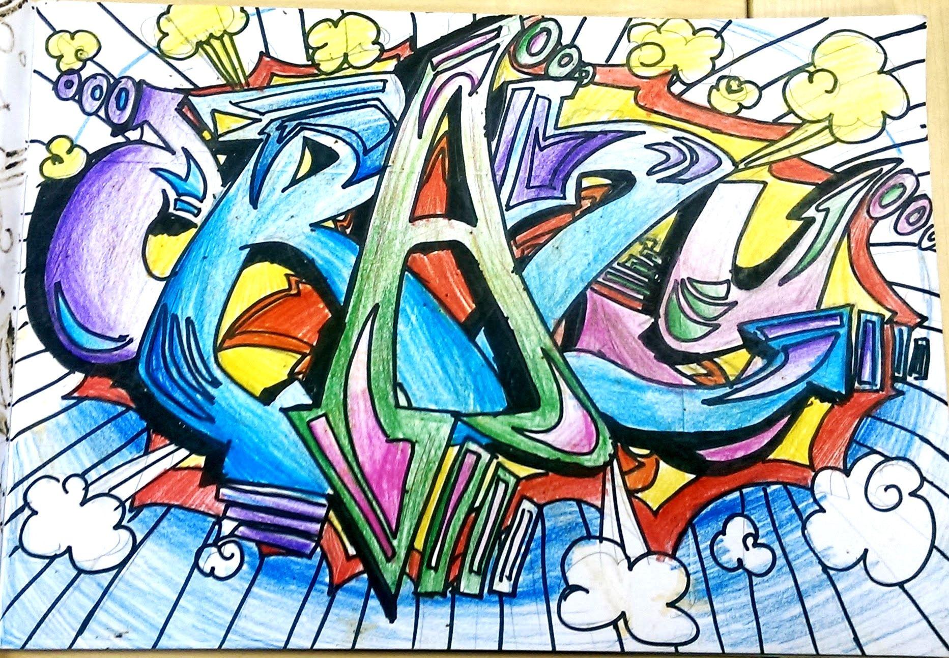Year 8 Graffiti Project