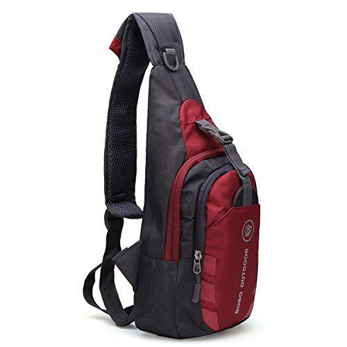 3c55afd57c BOBO Waterproof Packable Shoulder Backpack Sling Chest CrossBody Bag Cover Pack  Rucksack for Bicycle Sport Hiking Travel Camping Bookbag Men Women     Wow!