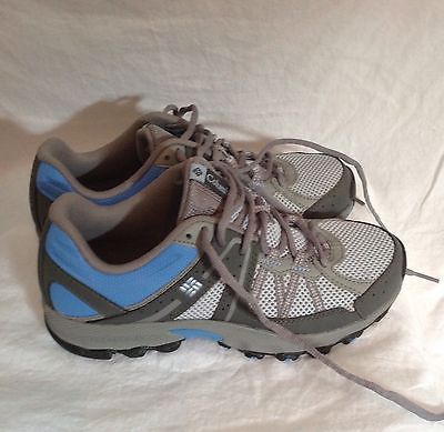 Columbia Women's Trail Hiking Shoes Size 7 Grey & Blue BRAND NEW - 18SS  $29.99  #shopmycloset 18thstreetstyle Resell fashion