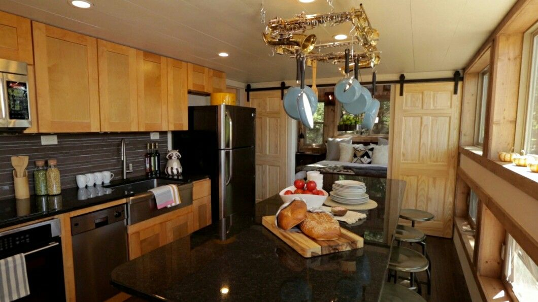 Kitchen Leading To Master Bedroom Tiny House Nation