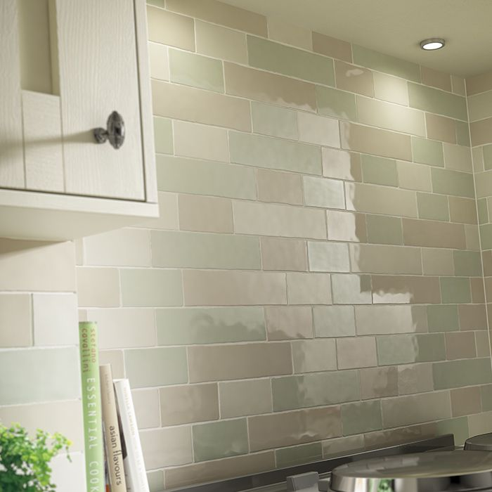 Kitchen Tiles Laura Ashley laura ashley artisan eau de nil wall - british designer tiles