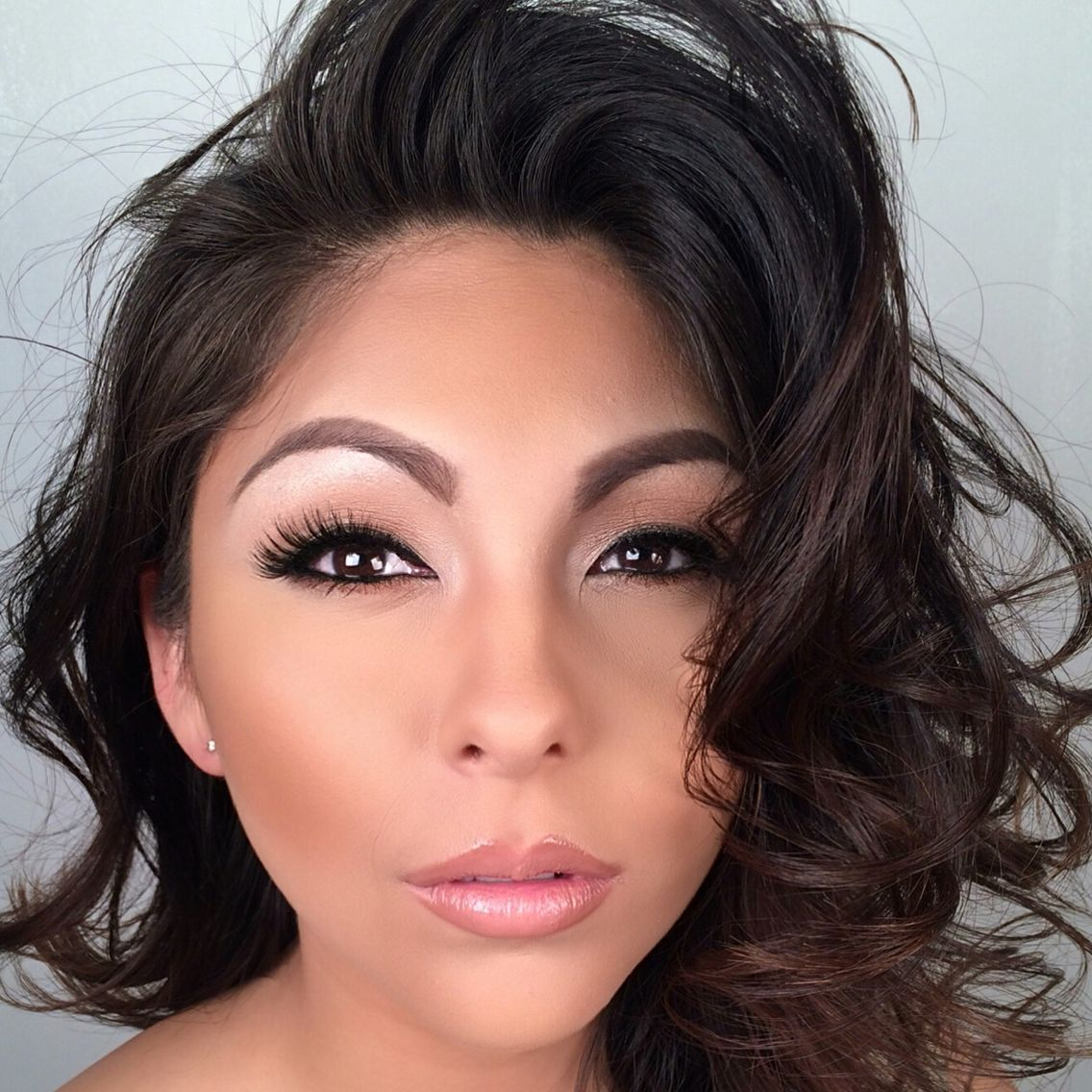 Soft glam Instagram makeupartisthectorjohn Glam, Makeup