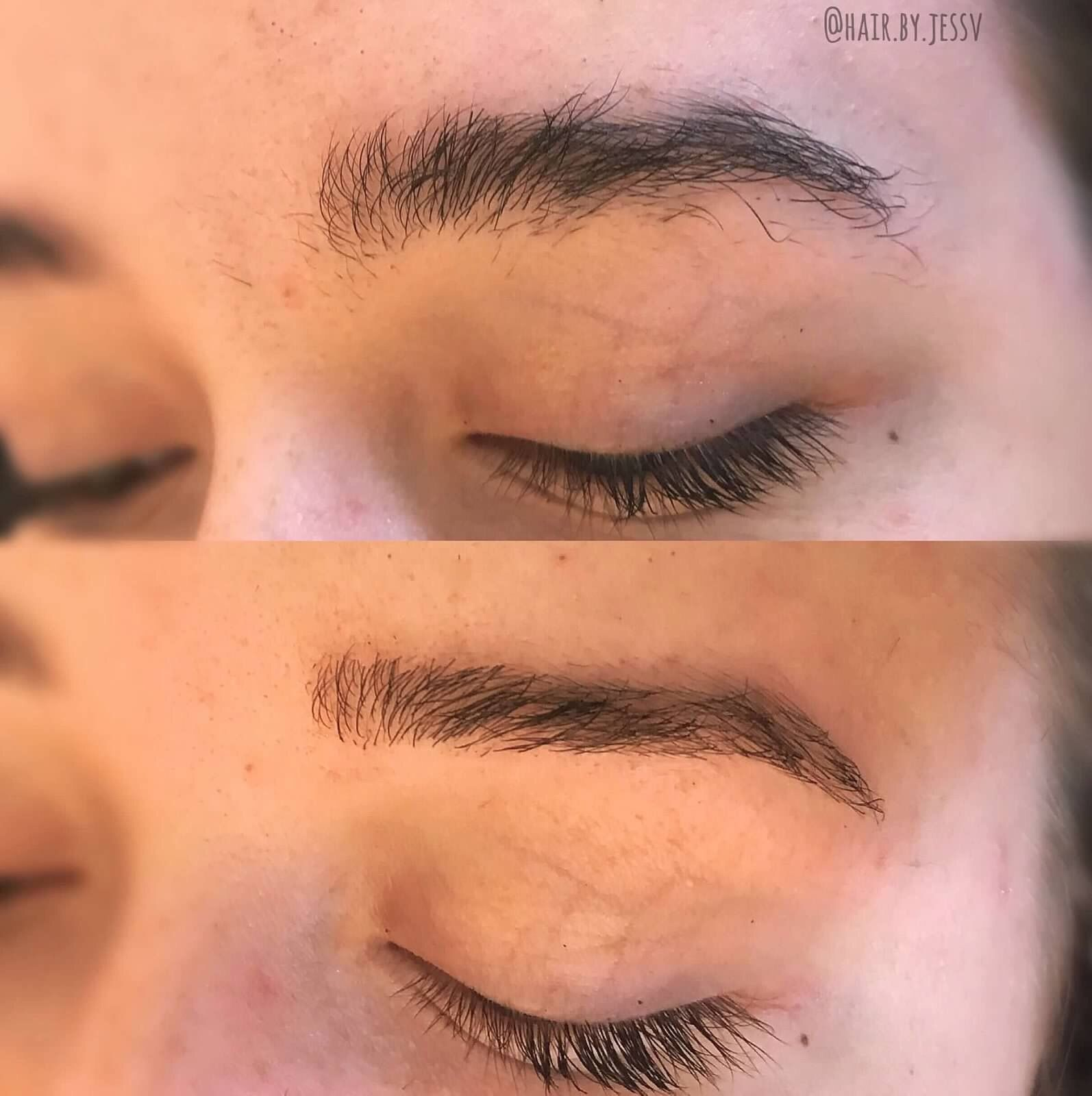 Before and after brow wax | Brow wax, Brows, Eyebrows