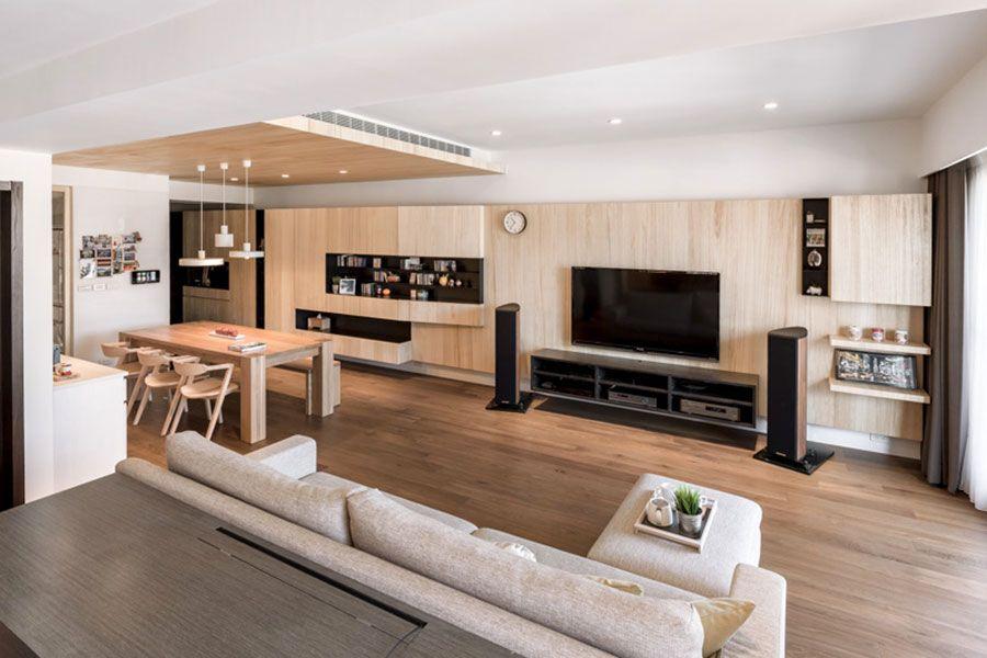 Case Da Sogno Con Interni In Legno 4 Progetti Dal Design Moderno Mondodesign It Appartamenti Moderni Design Appartamenti Appartamento Soggiorno